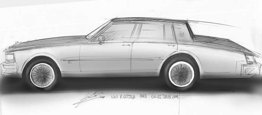 Cadillac Seville Elegance 1978 collectionis.com BlogDieCast