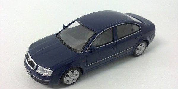 minichamps skoda superb