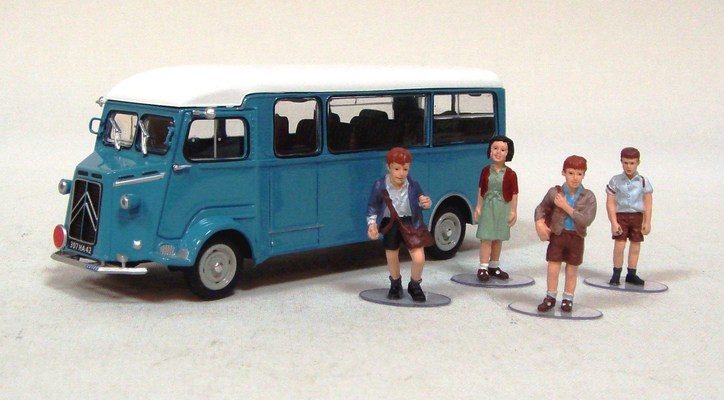 Citroen H Bus & Figures Eligor 101493