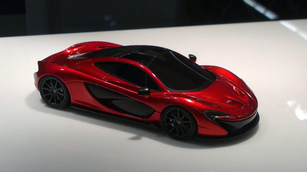 True Scale Minuatures-2012 McLaren P1 1-43