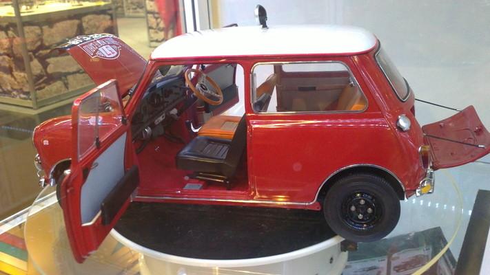 Morris Mini cooper 1964-Sun-Star-5321