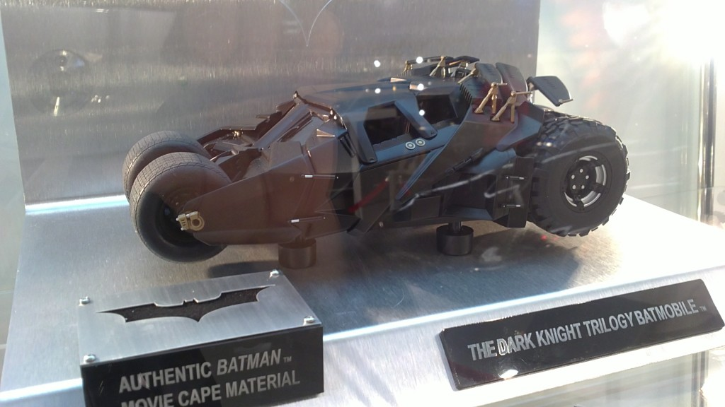 The Dark Knight Trilogy Batmobile Hot Wheels Elite